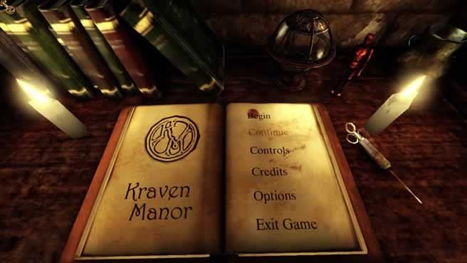 O download da demo de Kraven Manor