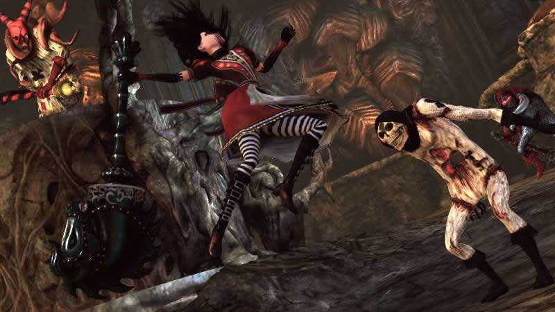 gameplay e jogabilidade de Alice Madness Returns