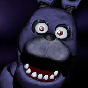 Bonnie coelho azul de Five Nights at Freddy's