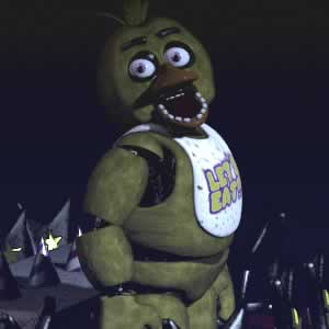 Chica a galinha de Five Nights at Freddy's