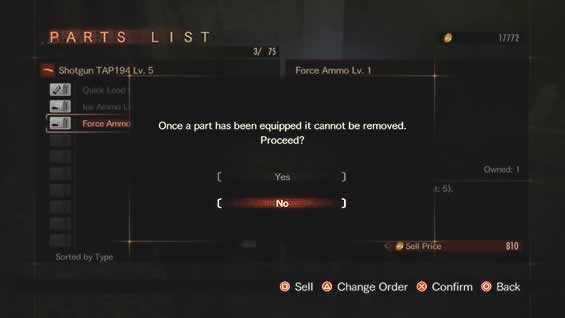 Customizações de armas permanentes no Raid Mode de Resident Evil Revelations 2