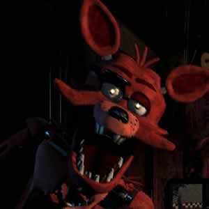 Foxy a raposa do jogo Five Nights at Freddy's