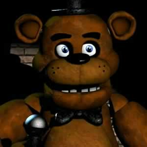 Freddy Fazbear do jogo Five Nights at Freddy's