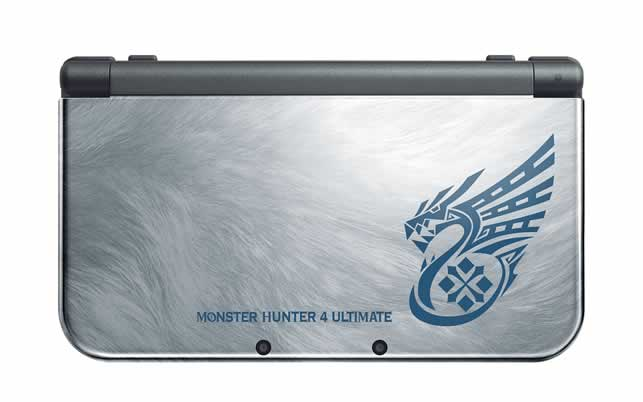 Modelo Nintendo 3DS Monster Hunter 4 Ultimate