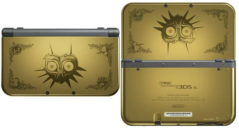 O Nintendo 3DS The Legend of Zelda Majora's Mask 3D