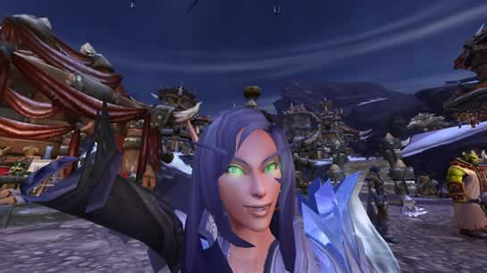 Tirando Selfie no World of Warcraft