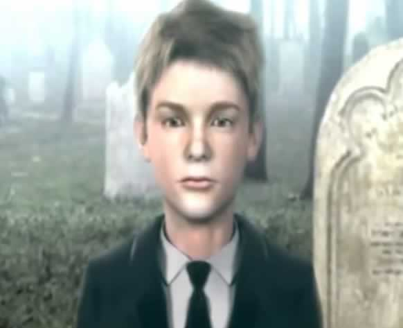 O pequeno Travis Grady de Silent Hill Origins