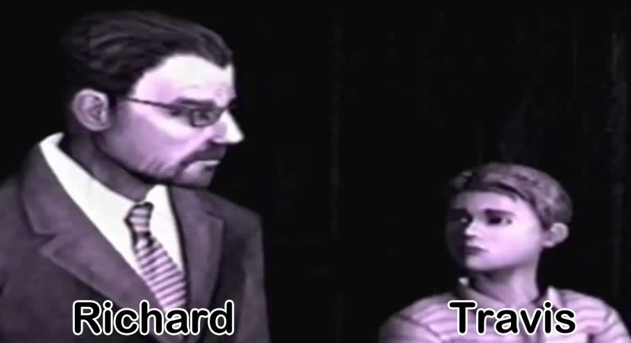Richard e Travis Grady de Silent Hill Origins