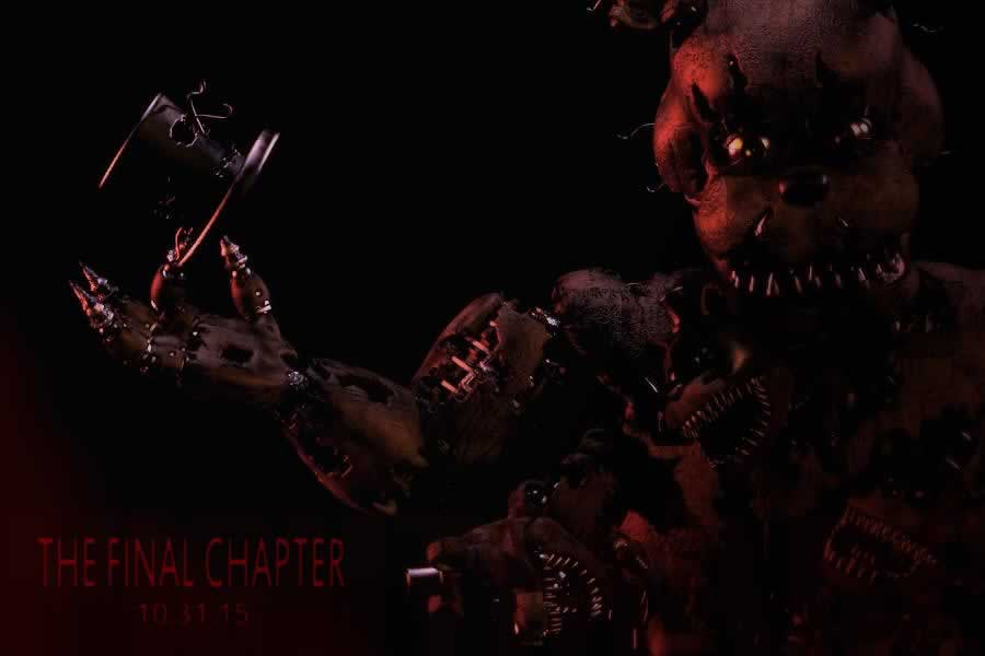 Anúncio de Five Nights At Freddy's 4
