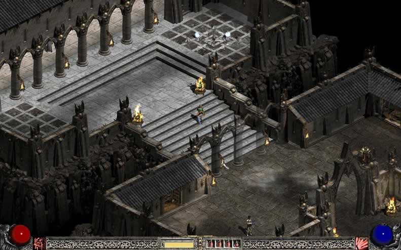 Dungeon crawl Diablo 2