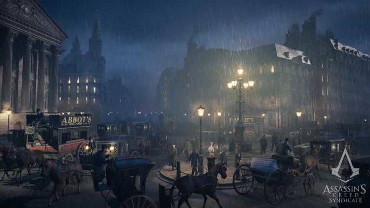 As ruas de Londres em Assassin's Creed Syndicate