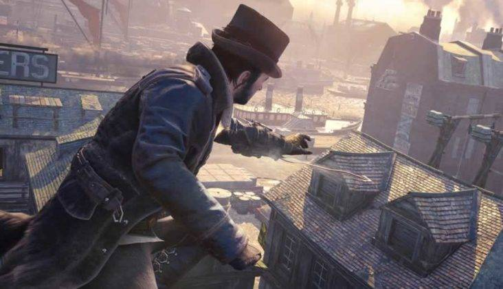 Assassin's Creed Syndicate arma que lança corda