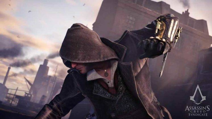 Jacob Frye de Assassin's Creed Syndicate atacando