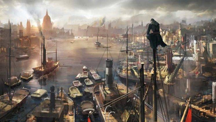 arte de conceito de Assassin's Creed Syndicate