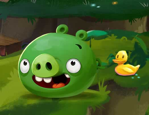 Piggies estarao no angry birds 2