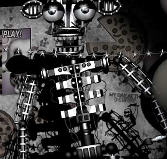 Endoesqueleto metálico Five Nights at Freddy's