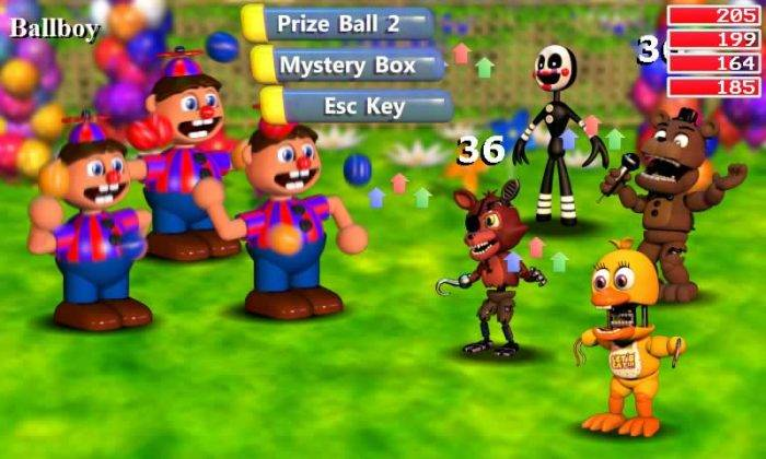 ballboy de fnaf world