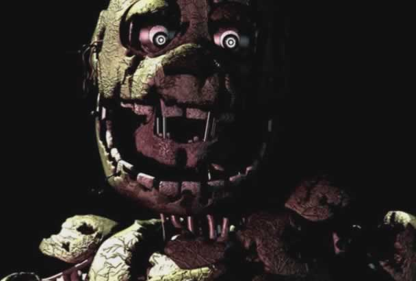 foto randomica do springtrap