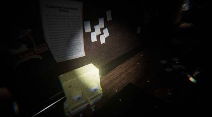 Bob Esponja no jogo de terror Five nights at the krusty krab