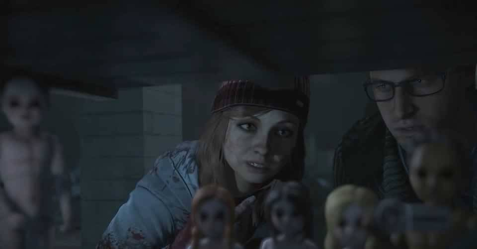 A casinha e bonecas de Until Dawn