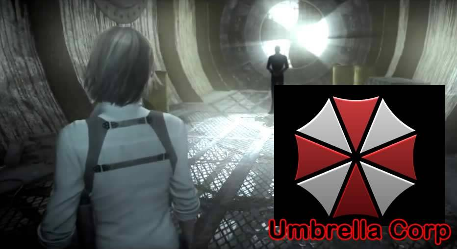 Símbolo da umbrella no The Evil Within