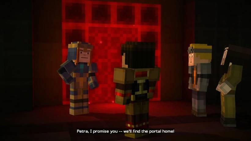 na-frente-do-portal-de-redstone-minecraft-story-mode