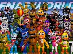 Finais alternativos do jogo FNAF World