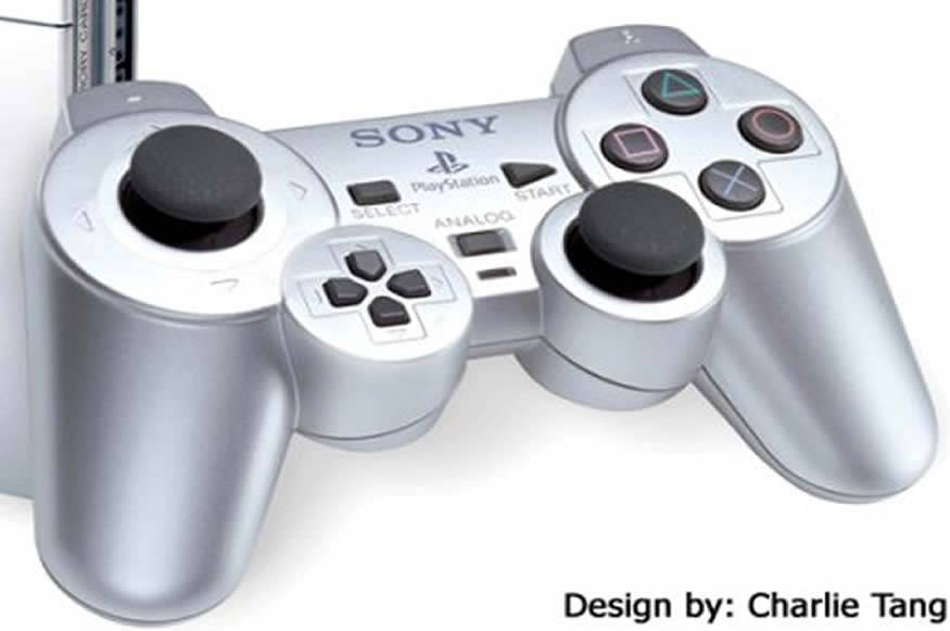 Controle do PS3 com pad modificado
