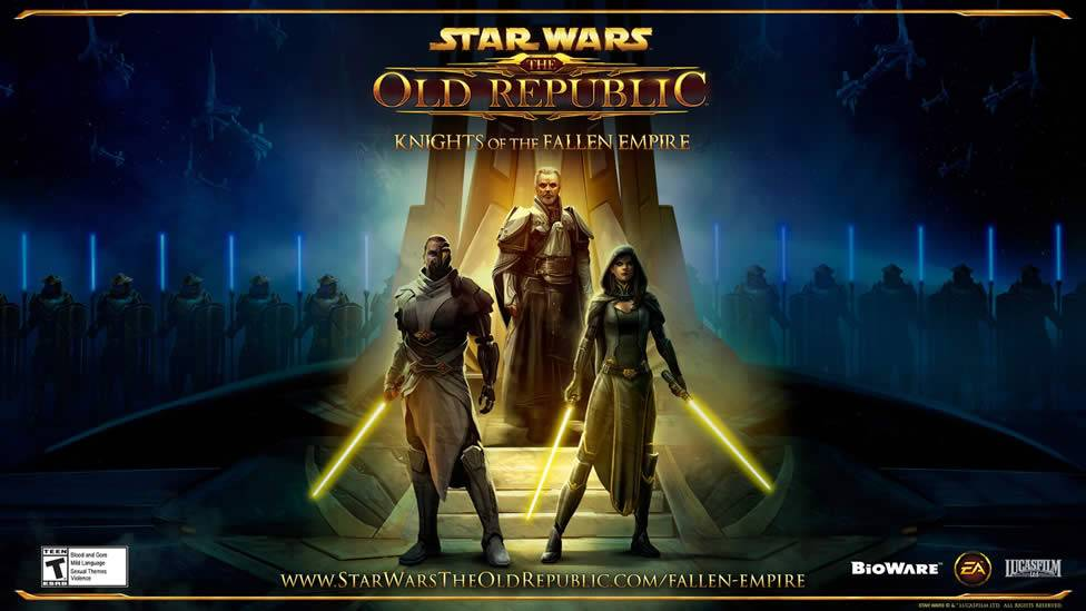 Poster de Star Wars The Old Republic Knights of the Fallen Empire