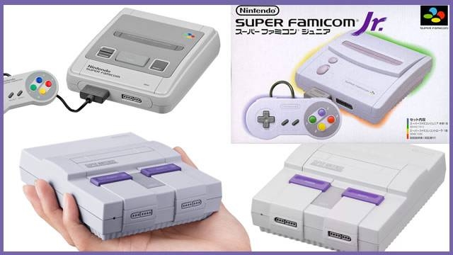 As diferentes versões do Super Nintendo