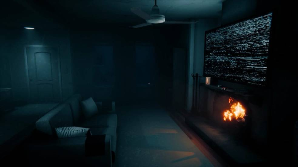 Onde ficar para evitar ataque do Freddy TJOC Story Mode Living Room