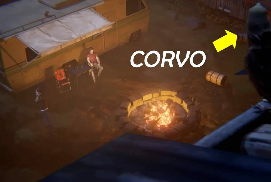 Cenas de Life is Strange Beforem the Storm final do episódio 1