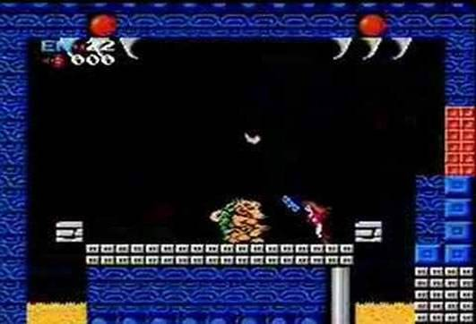 Gameplay de Metroid do Super Nintendo