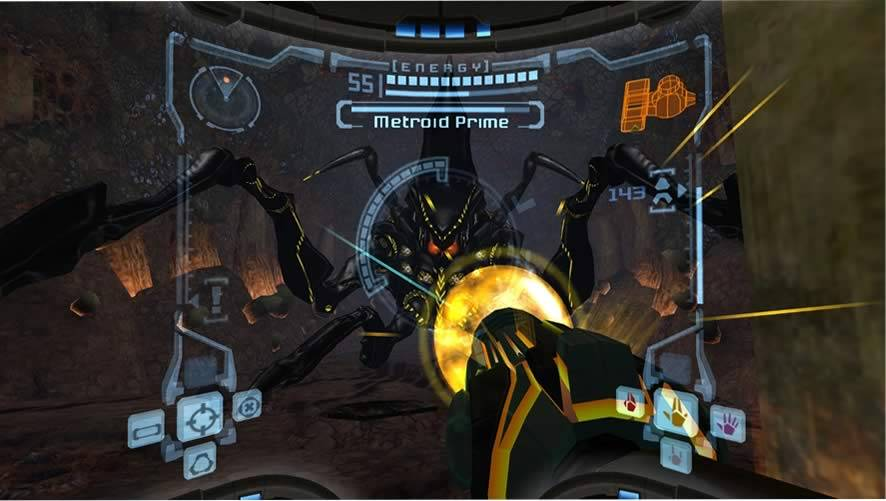 Metroid Prime gameplay