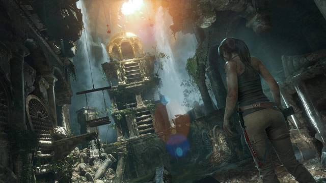 Ambiente de Rise of The Tomb Raider