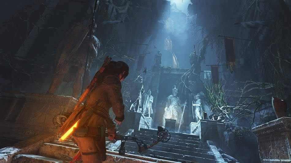 Tumbas de Rise of The Tomb Raider
