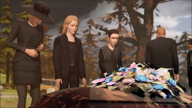 Funeral de William Price Life is Strange
