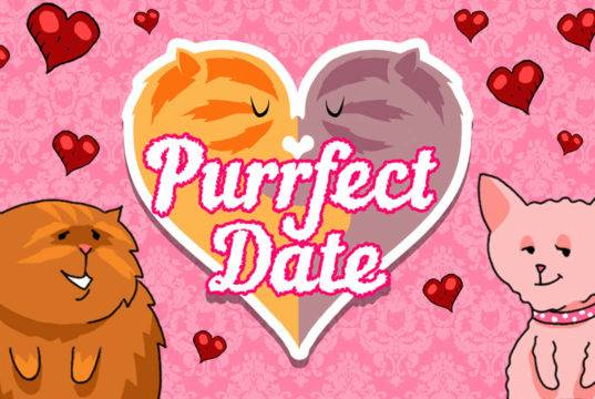 Visual Novel Purrfect Date análise