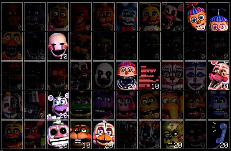 Todos personagens de Pay Attention 2 UCN