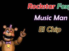 Ultimate Custom Night – Dicas para Rockstar Foxy, Music Man e El Chip