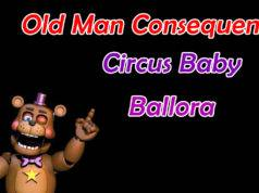 Ultimate Custom Night Como evitar o Old Man Consequences, Circus Baby e Ballora
