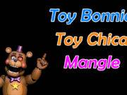 Ultimate Custom Night Como evitar o Toy Bonnie, Toy Chica e Mangle