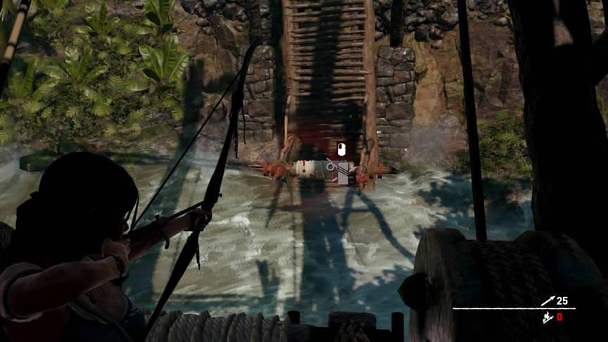 Como passar pela ponte do Shadow of the Tomb Raider