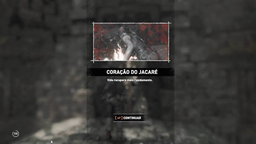 Coração do Jacaré Shadow of the Tomb Raider